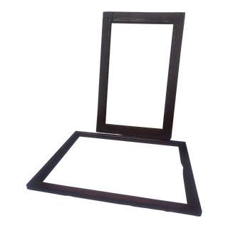 Antique Picture Frames - A Pair