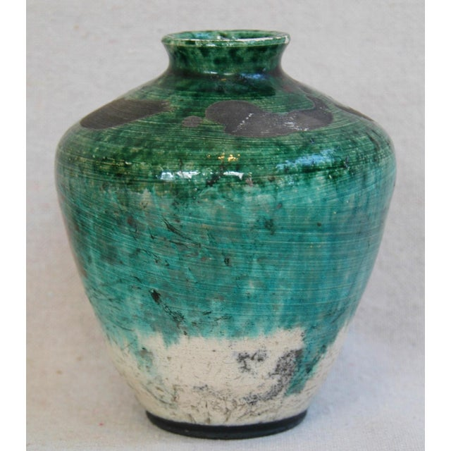 Mid-Century Studio Art Pottery Vases - Set of 2 For Sale In Los Angeles - Image 6 of 11
