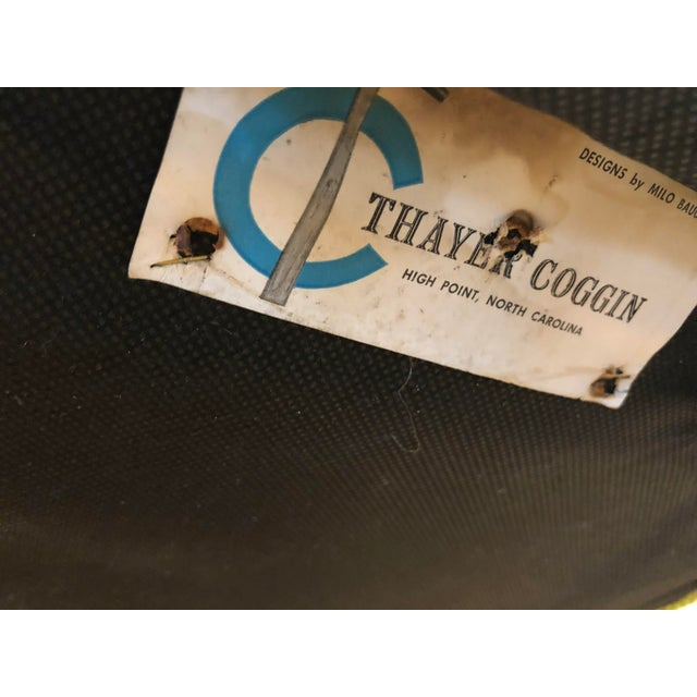 Milo Baughman Thayer Coggin Chair For Sale - Image 9 of 10