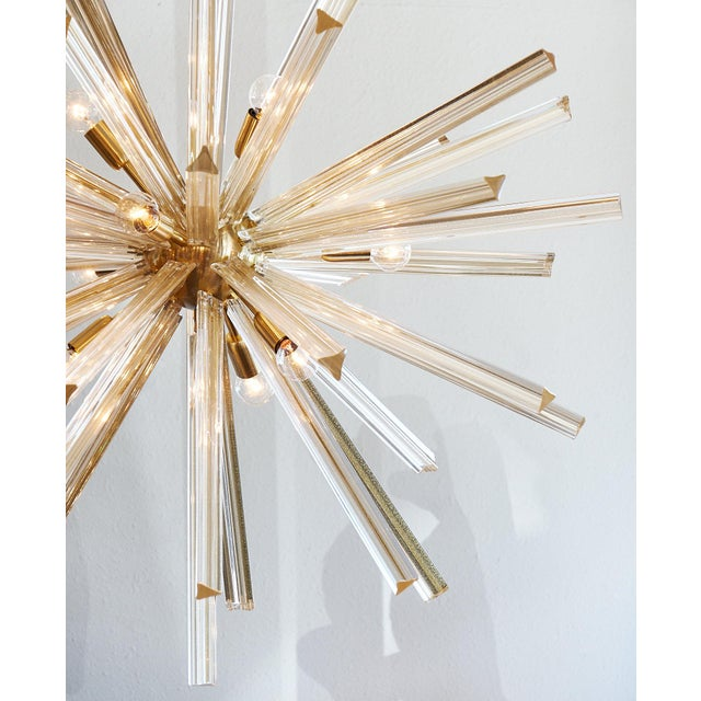 Customizable Italian Murano Glass Sputnik Chandelier For Sale - Image 9 of 9