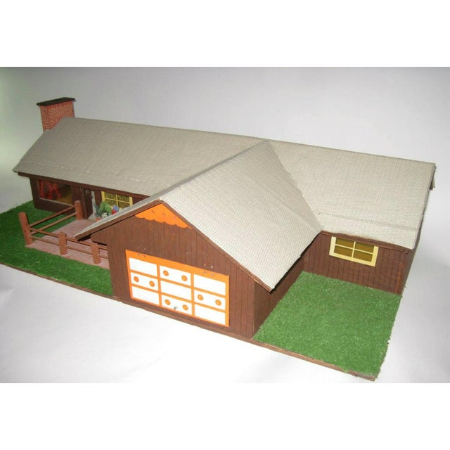 C.1970s Ranch Style Dollhouse For Sale - Image 4 of 11