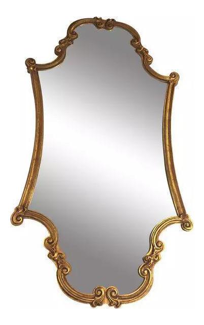 Victorian Gold Leaf Mirror Chairish