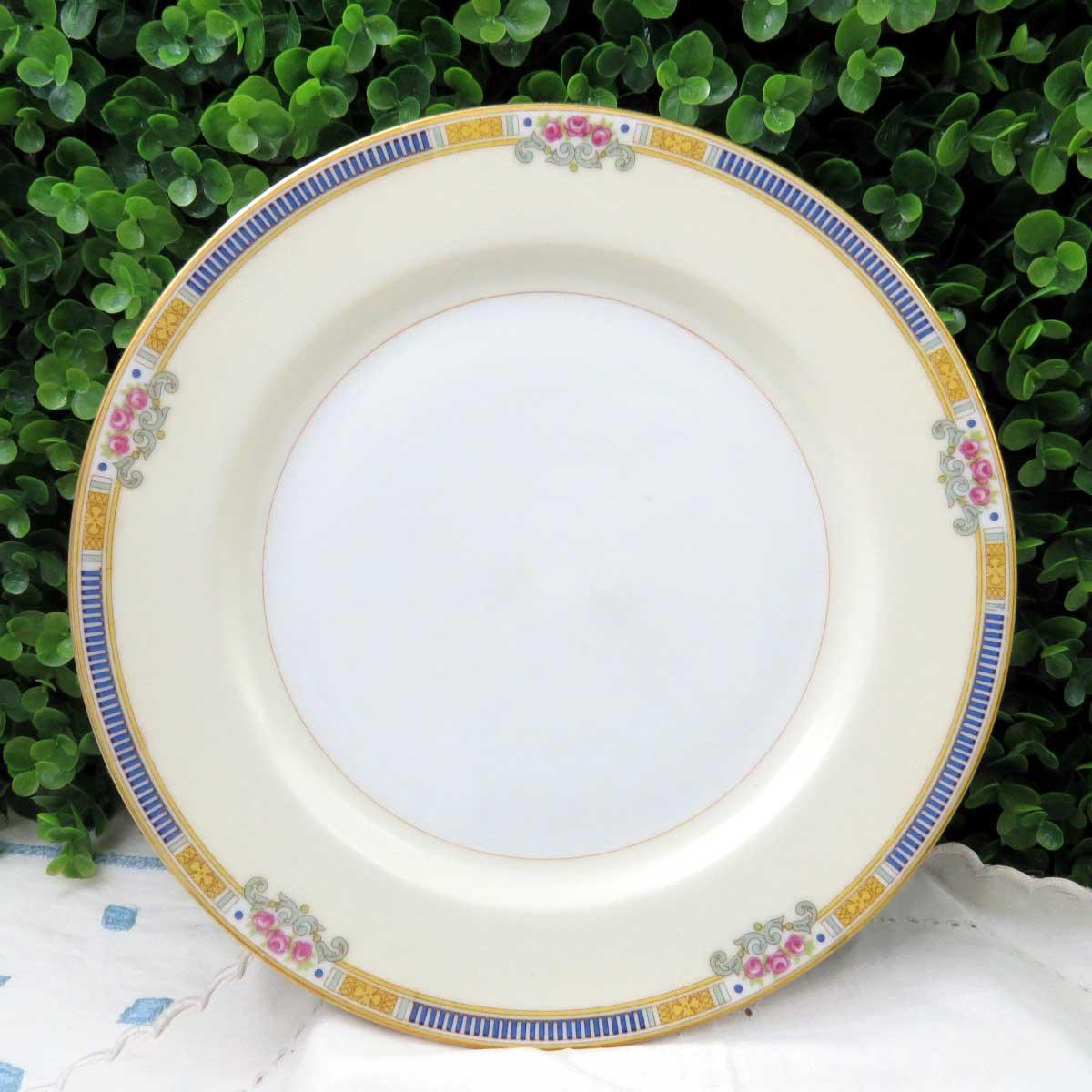 Vintage Mismatched Fine China Dinner Plates - Set of 4 - Image 4 of 11 & Vintage Mismatched Fine China Dinner Plates - Set of 4 | Chairish