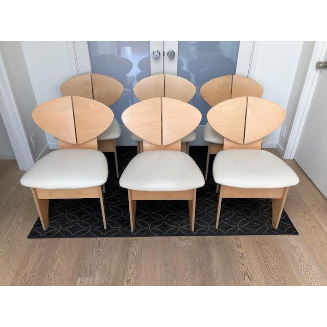 Mid-Century Inspired Dining Chairs - Set of 6 For Sale In San Francisco - Image 6 of 6