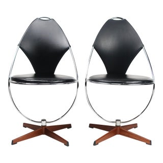 Atomic Age Dahlens Dalum Side Chairs - A Pair For Sale