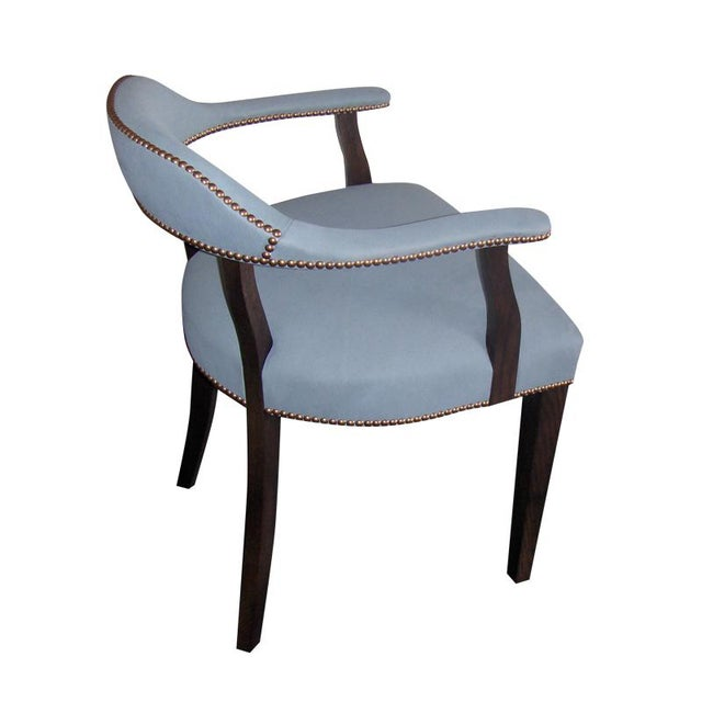 """Slant LA Custom to Order """"The Color Hues"""" Collection Leather Chair For Sale - Image 4 of 9"""
