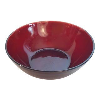 Anchor Hocking Royal Ruby Vegitable Bowl