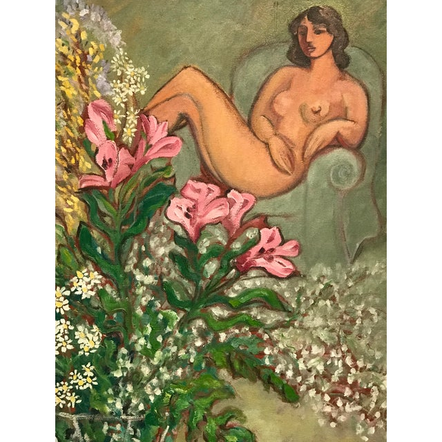 Henri Matisse Modern Painting, in the Style of Matisse For Sale - Image 4 of 9
