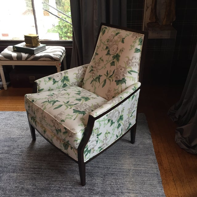 The MT Company Mt Transitional Club Chair For Sale - Image 4 of 7