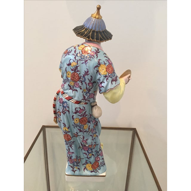 Chinoiserie Figurines by Chelsea House - Pair - Image 5 of 10
