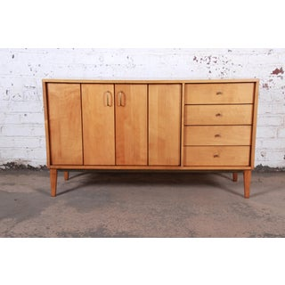 Milo Baughman for Murray Mid-Century Modern Maple Sideboard Credenza Preview
