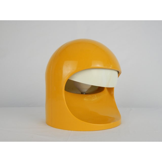 """1970s Space Age Lightolier """"Interplay 2"""" Yellow Lamp For Sale - Image 5 of 13"""