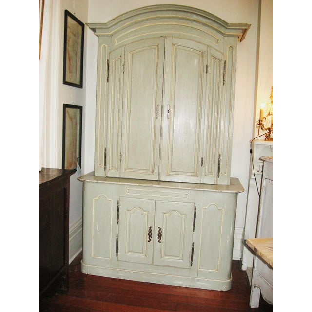 Wood 19th Century French Buffet a Deux Corps For Sale - Image 7 of 12