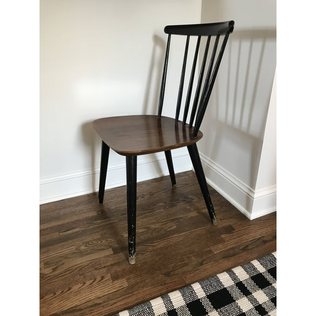 Vintage Danish Windsor Chair For Sale - Image 4 of 13