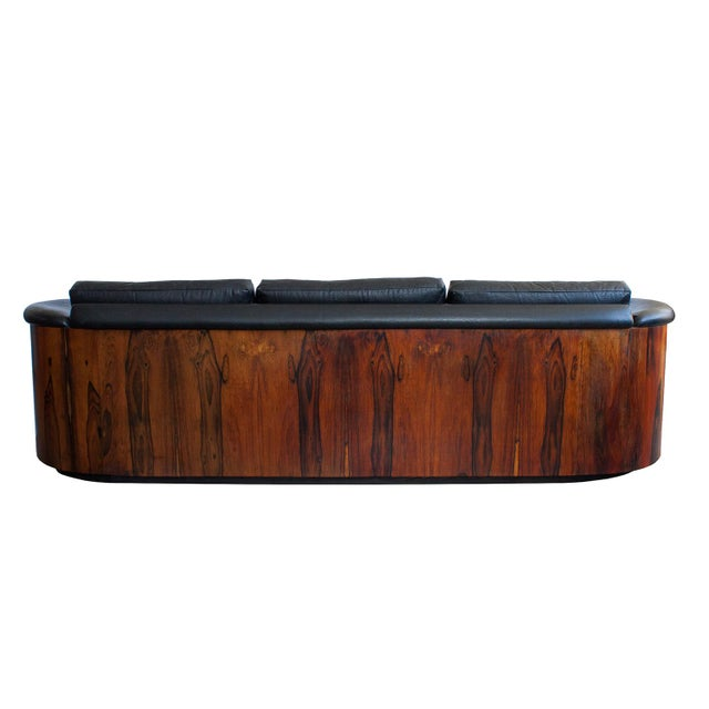 George Mulhauser for Plycraft Rosewood Case Sofa - Image 8 of 11