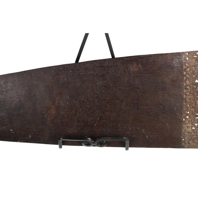 19th Century New Guinea Hand Carved Paddle - Image 3 of 9