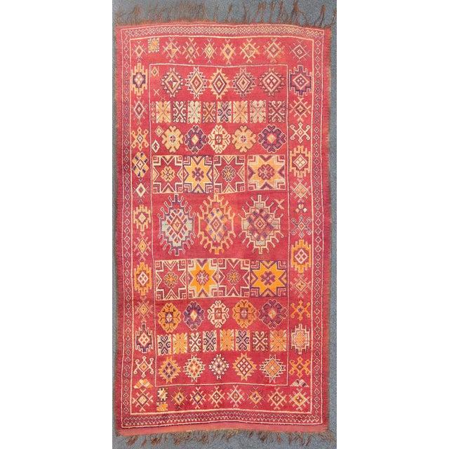 Keivan Woven Arts, S12-0410, Vintage Mid-Century Moroccan Rug - 5′4″ × 10′ For Sale - Image 10 of 10