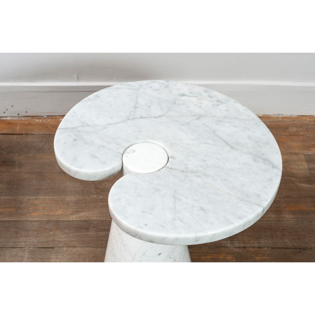 """Pair of Marble """"Eros"""" Tables by Mangiarotti For Sale - Image 9 of 11"""