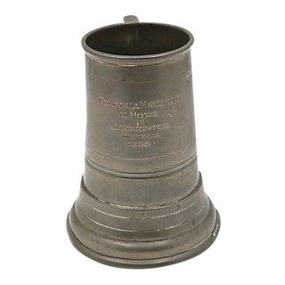 1958 Golf Trophy w/Glass Bottom & Dice For Sale