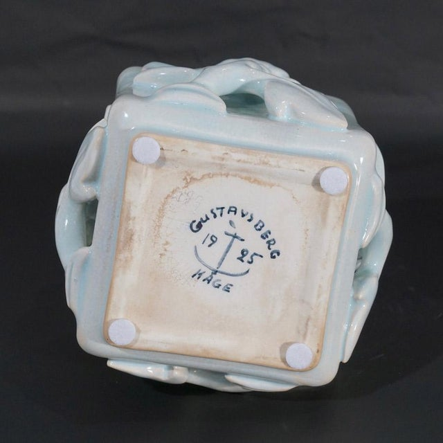 1920s Wilhelm Kage Lidded Box For Sale - Image 9 of 10