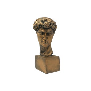 Vintage Bust of David For Sale
