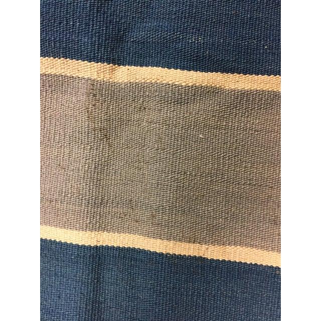 New Hand Woven Kilim 9'10 X 13'4 - Image 4 of 5
