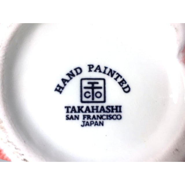 Vintage Peach Condiment Jar by Takahashi For Sale In Tampa - Image 6 of 9