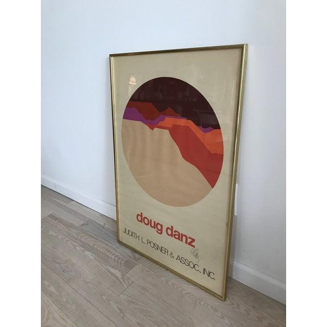 Vintage Doug Danz Framed Poster - Image 3 of 9