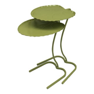 Salterini Leaf Tables, Set of 2 For Sale