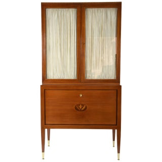 20th Century Paolo Buffa Italian Showcase Vitrine or Cabinet For Sale