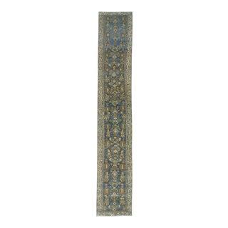 Washed Out Persian Mahal Runner Rug - 2′9″ × 15′9″