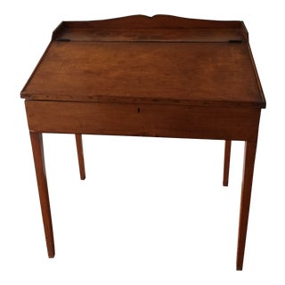 19th Century Antique Flip Top Desk For Sale