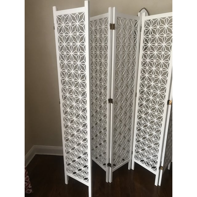 Marvelous Mid Century Teak Wood 6 Panel Room Screen Divider Download Free Architecture Designs Embacsunscenecom