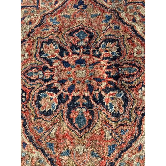 """Vintage Persian Heriz Door Mat Rug - 2'1"""" x 2'8"""" - Image 3 of 8"""