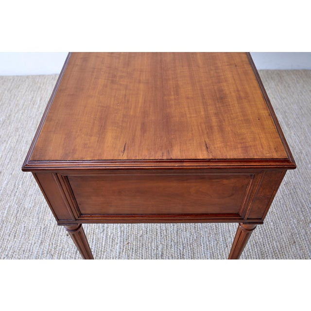 French Louis XVI Style Mahogany Ladies Writing Table For Sale - Image 10 of 13