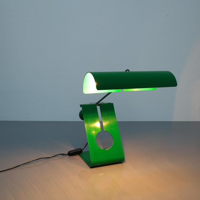 Mauro Martini Adjustable Counterweight Table Lamp Picchio, Italy, Circa 1965 For Sale - Image 12 of 13