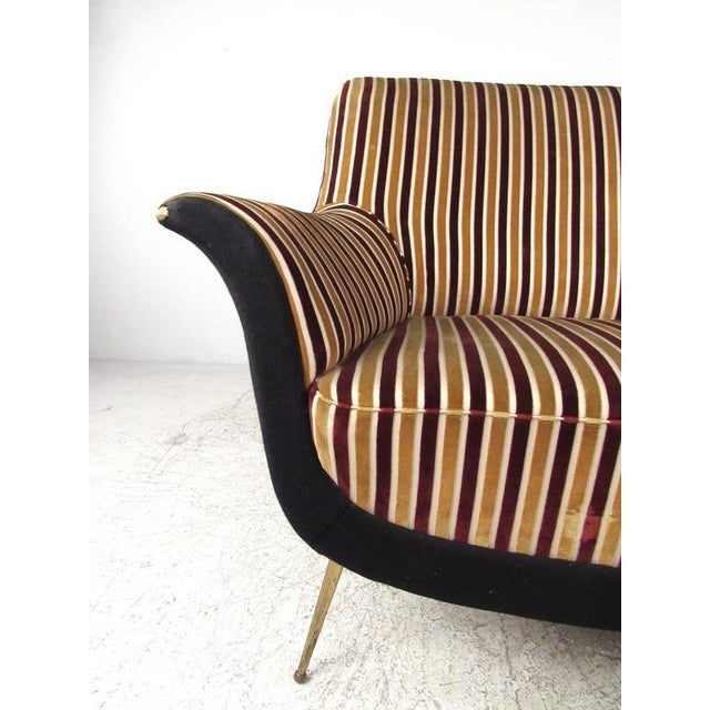 Exquisite Italian Modern Loveseat after Marco Zanuso - Image 4 of 11