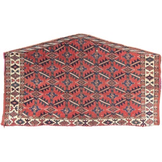 Yomut Asmalyk (Pendant Camel Trapping) - 4′1″ × 2′11″ For Sale