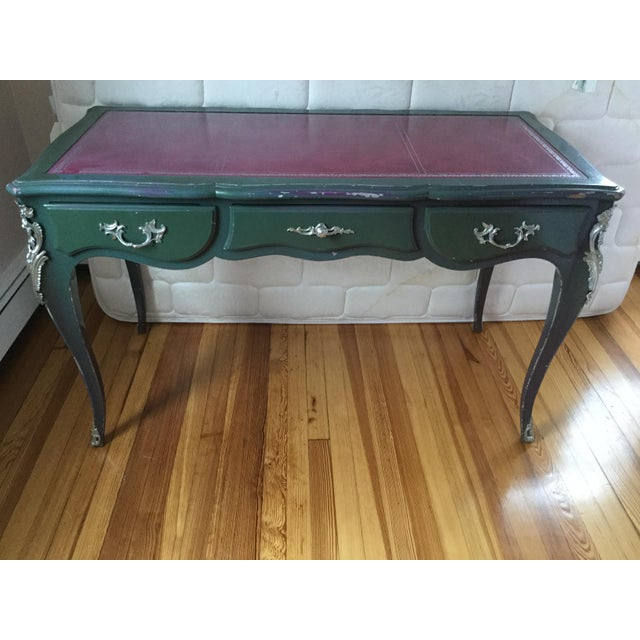 Louis XV Style Painted Desk For Sale - Image 12 of 12