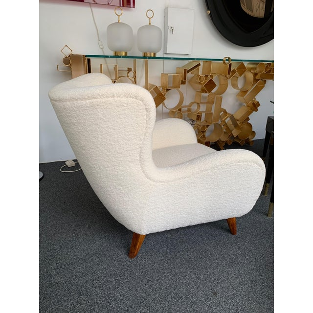 1950s Italian Armchairs by Melchiorre Bega - a Pair For Sale - Image 10 of 13