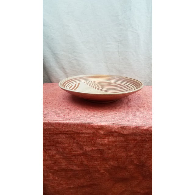 Cottage Dave Butterfield Studio Pottery Platter For Sale - Image 3 of 4