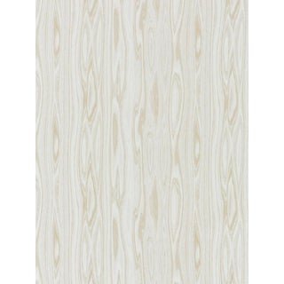 Sample, Scalamandre Faux Bois Weave, Sand Fabric For Sale