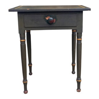 19th Century Country One Drawer Stand For Sale