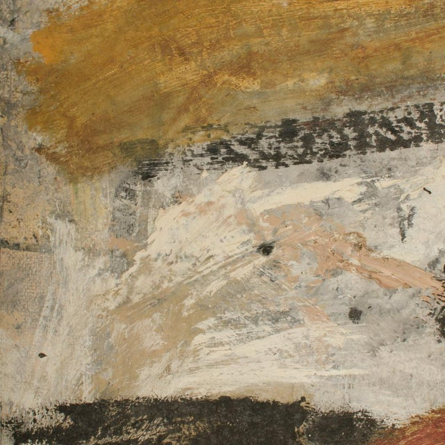 Mid 20th Century Abstract Oil Painting by Newton Haydn Stubbing For Sale - Image 9 of 13