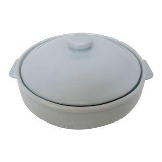 Celadon Porcelain Serving Bowl For Sale