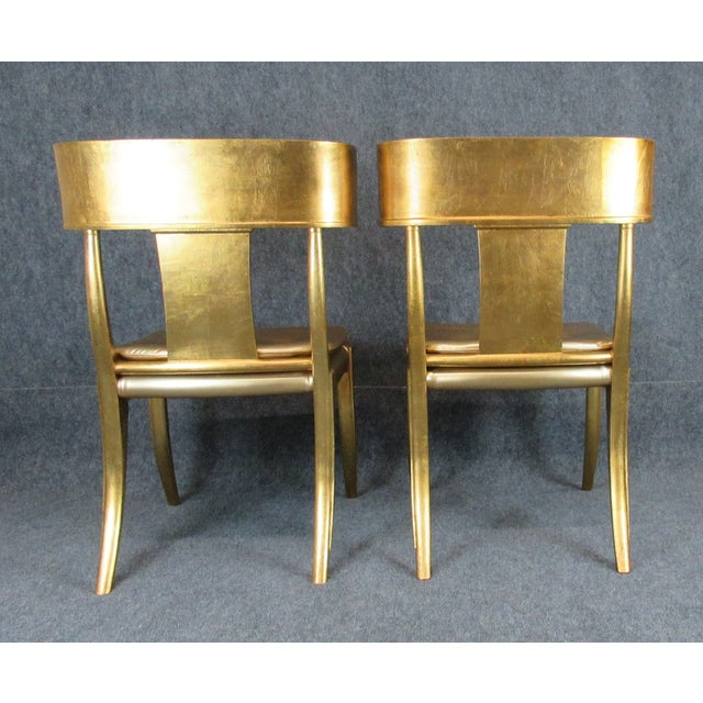 Mid 20th Century Vintage Mid-Century Modern Klismos Chairs- a Pair For Sale - Image 5 of 13