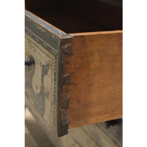 Antique Chest With New Paint From Spain For Sale In Nashville - Image 6 of 13