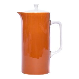 Harmony House Ironstone Butterscotch Coffee Server For Sale