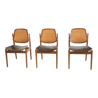 Arne Vodder Dining Chairs - Set of 3 For Sale