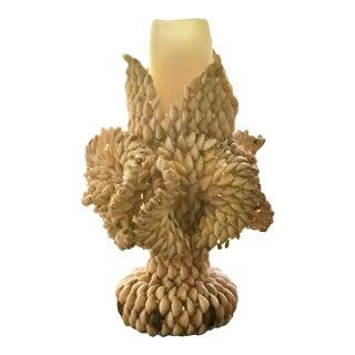 Vintage Organic Modern Sculpture or Candle Holder For Sale
